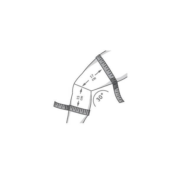 Bauerfeind Genutrain P3 Knæbandage Med Silikone