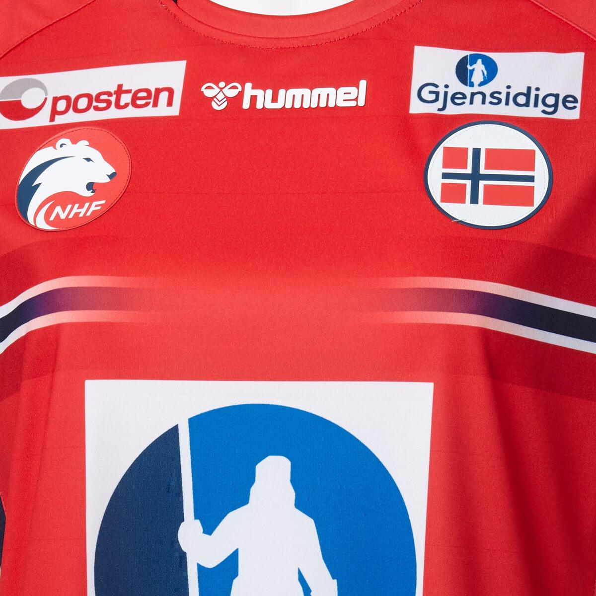 hummel Norge Håndbold Damelandsholdstrøje 20/21