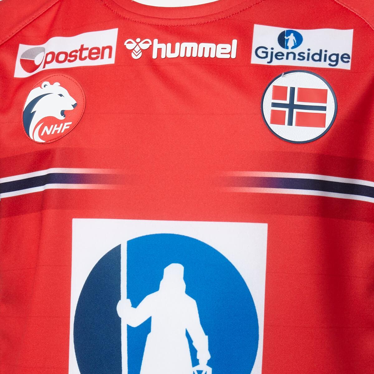 hummel Norge Håndbold Damelandsholdstrøje 20/21 Børn