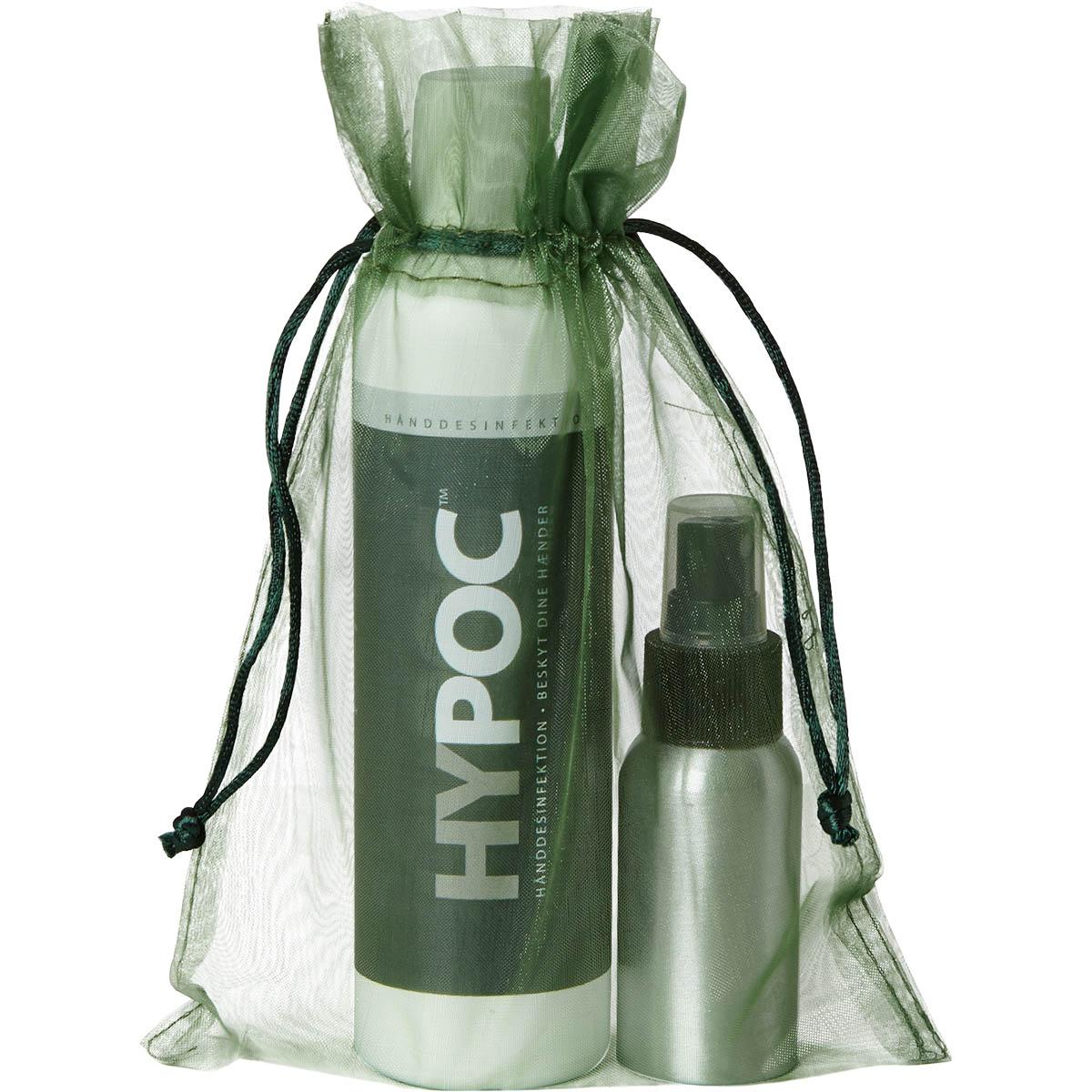HYPOC Hånddesinfektion 50 ml Sprayflaske + 250 ml Refill
