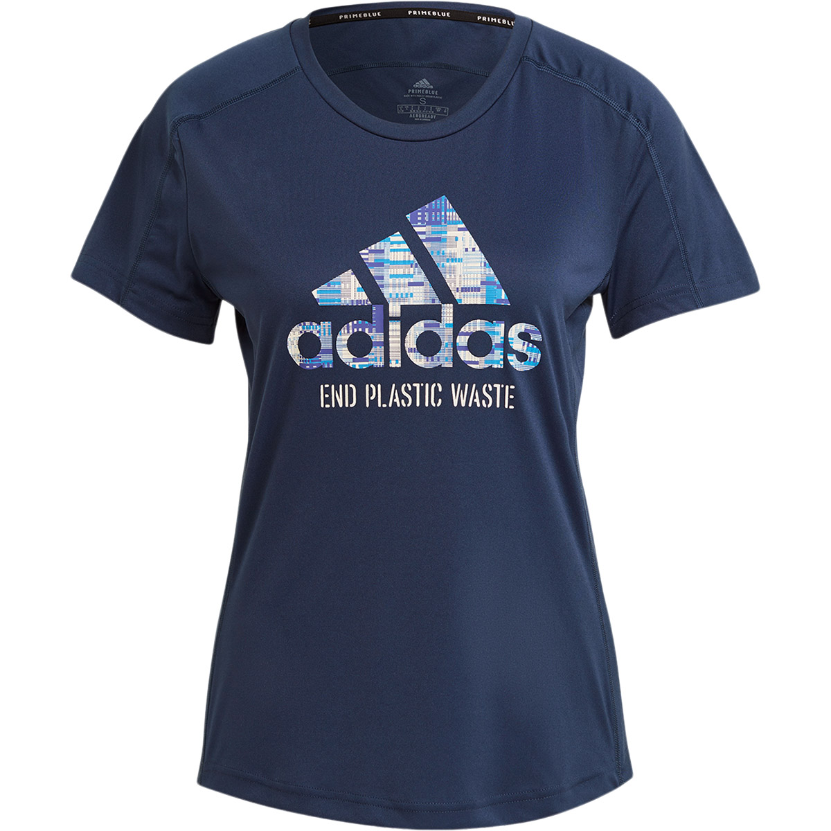 adidas Run For The Oceans Løbe T-shirt Dame