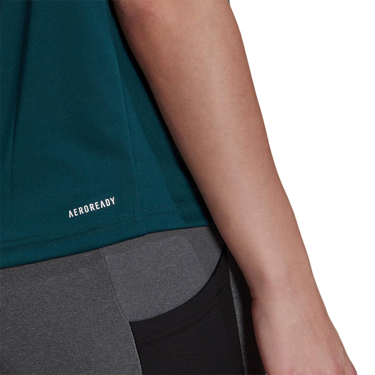 adidas Designed 2 Move Big Logo Trænings T-shirt Dame