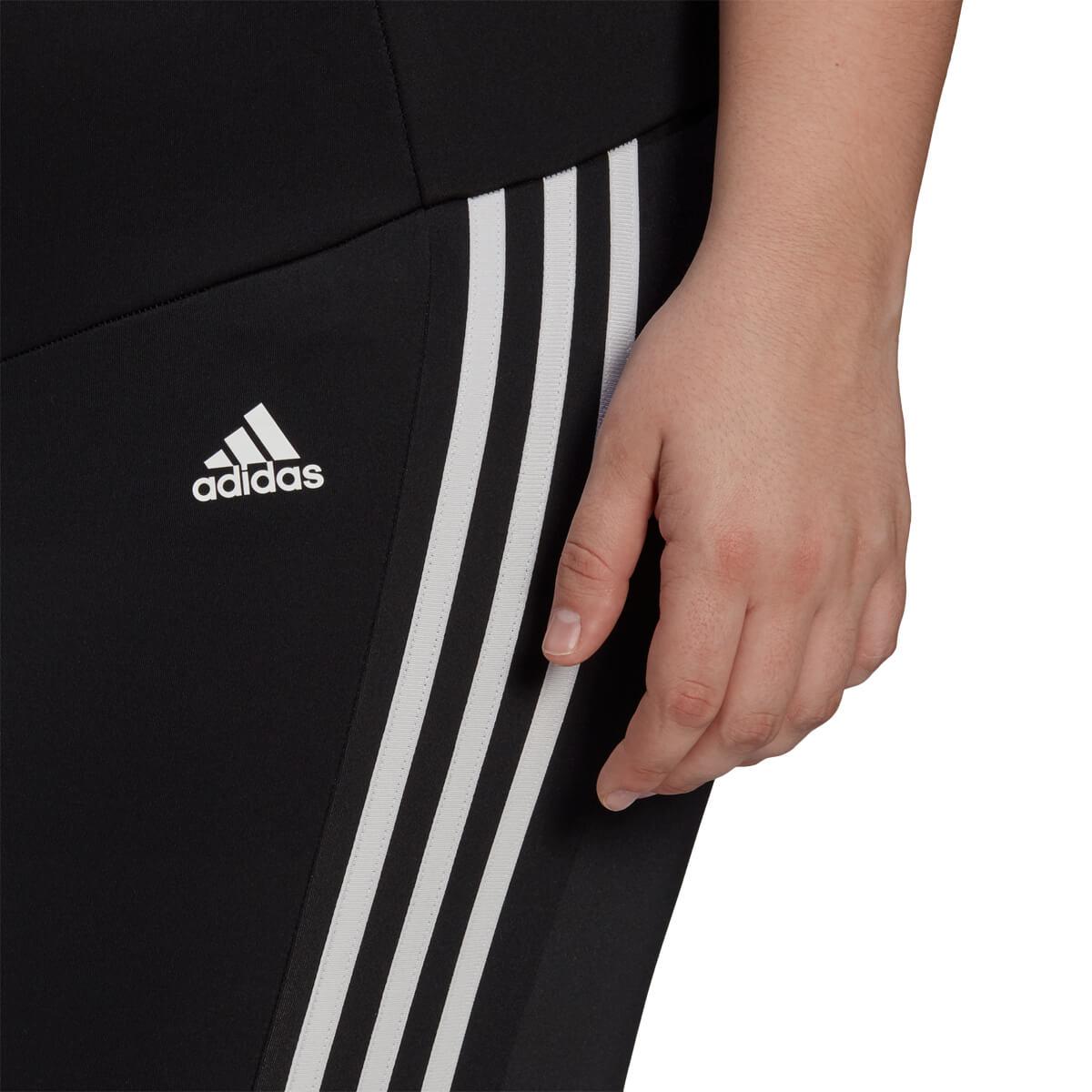 adidas Plus Designed 2 Move 3-Stripes High-Rise 7/8 Træningstights Dame