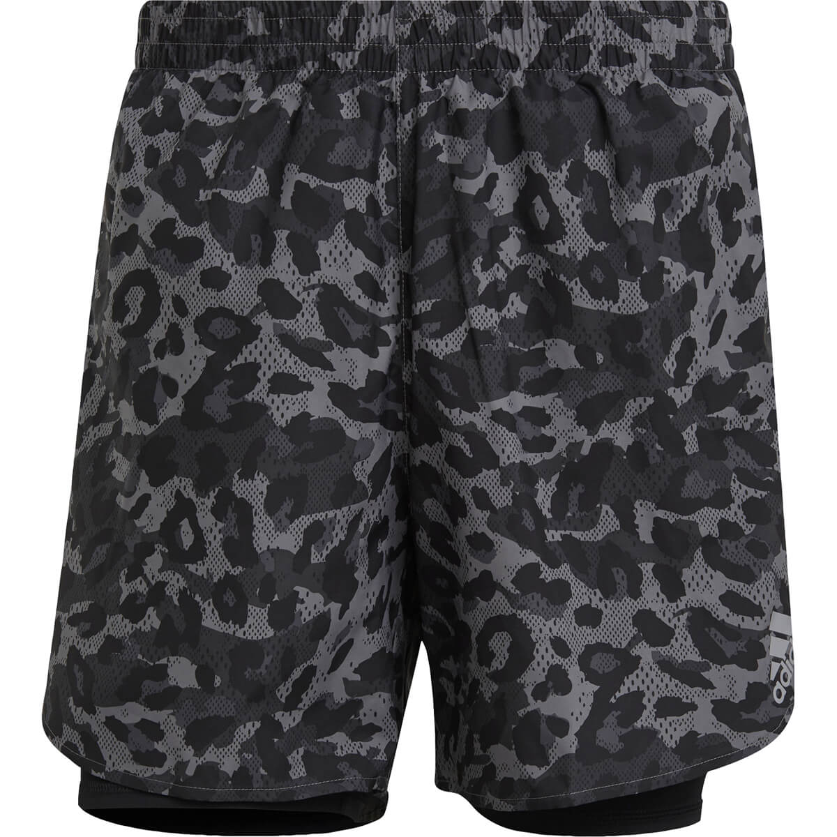 adidas Fast Primeblue Graphic 2in1 Løbeshorts Herre