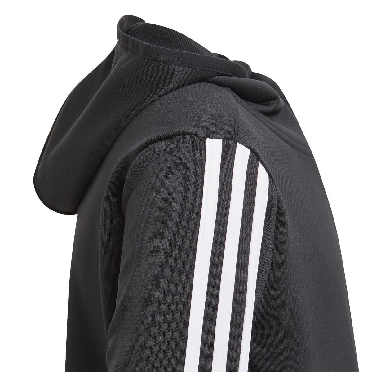 adidas Designed 2 Move 3-stripes Full Zip Hood Træningstrøje Børn