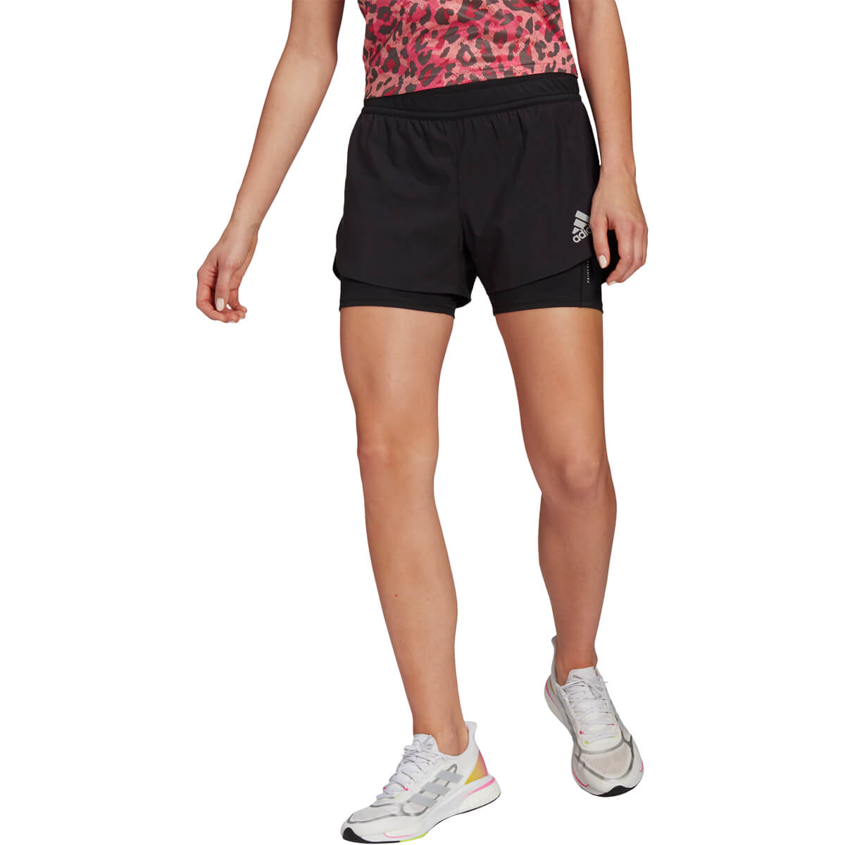 adidas Fast Primeblue 2in1 Løbeshorts Dame