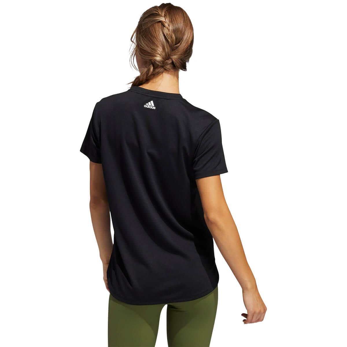 adidas Badge Of Sport Logo Trænings T-shirt Dame
