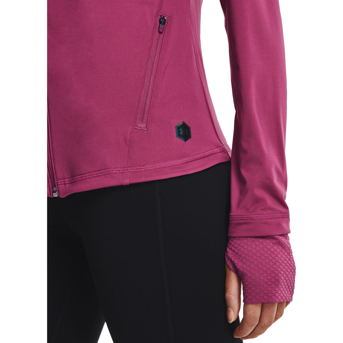 Under Armour Rush Full Zip Midlayer Løbetrøje Dame