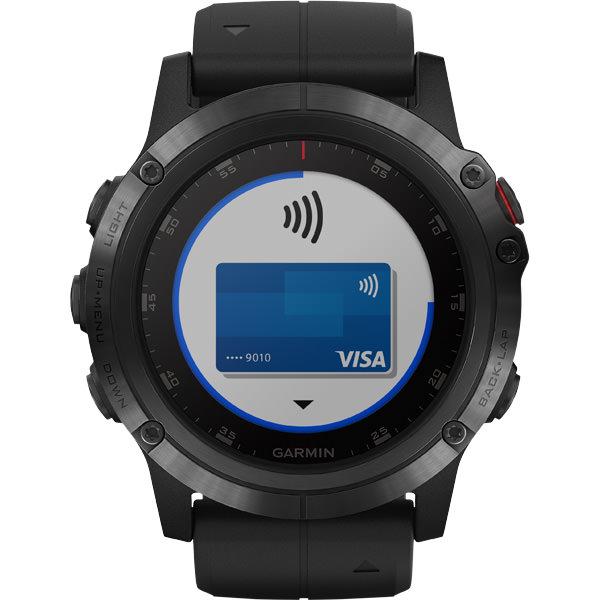 Garmin Fenix 5X Plus Sapphire GPS Pulsur