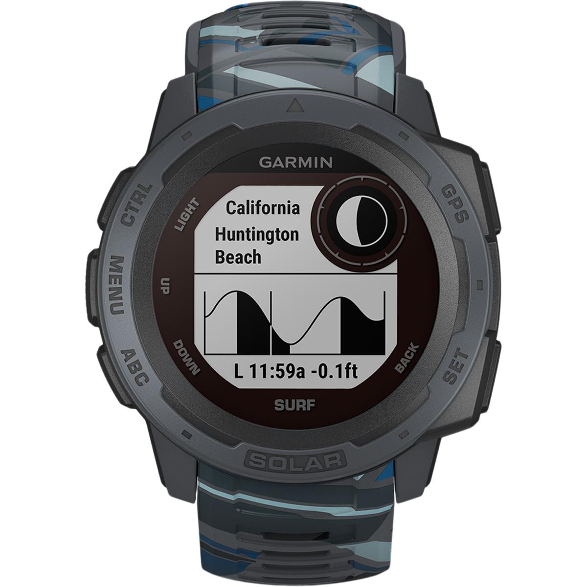 Garmin Instinct Solar GPS Surf Edition Pulsur