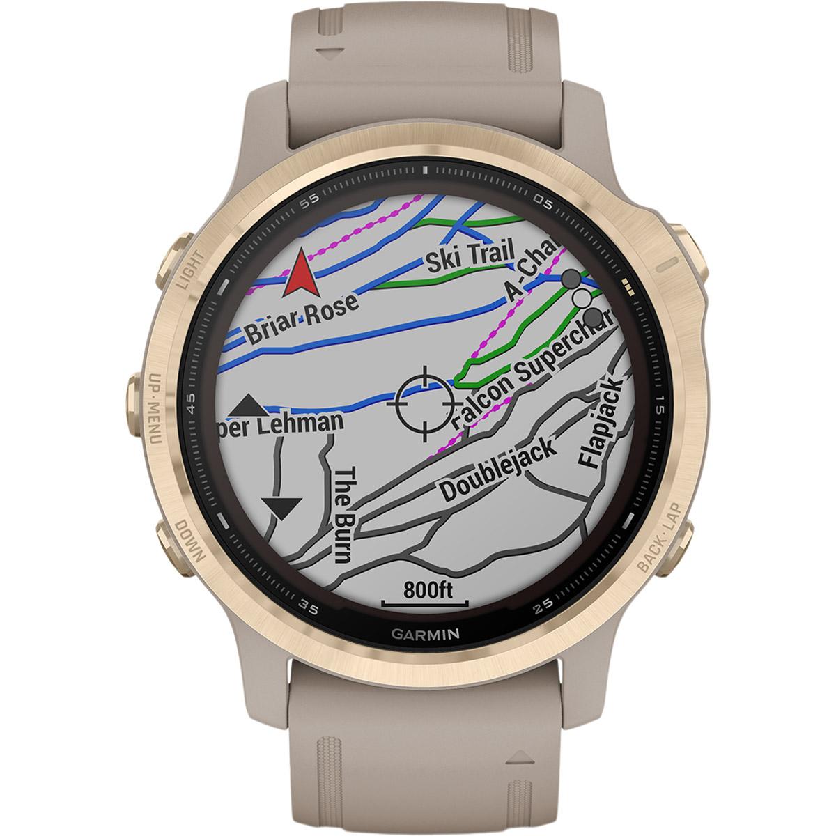 Garmin Fenix 6S Pro Solar GPS Pulsur