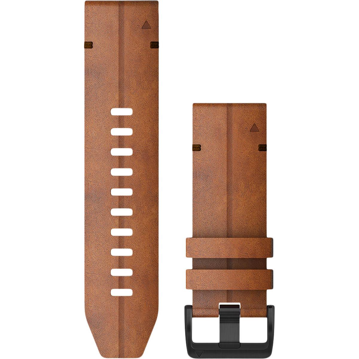 Garmin QuickFit 26mm Læder Urrem