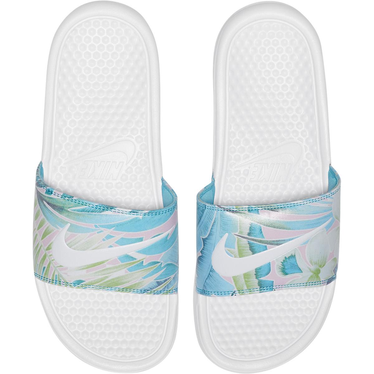 Nike Benassi Just Do It Print Badesandaler Dame