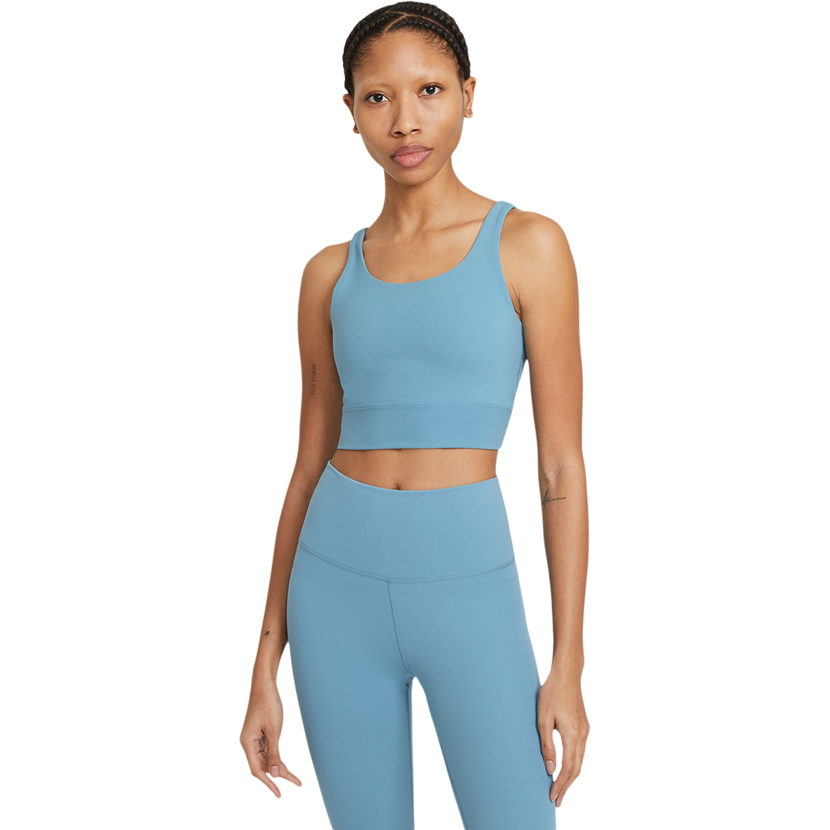 Nike Yoga Luxe Crop Top Dame