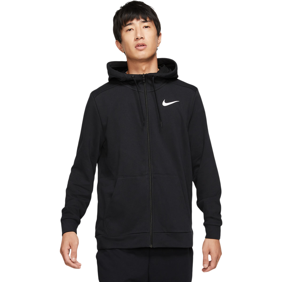 Nike Dri Fit Full Zip Hood Træningstrøje Herre