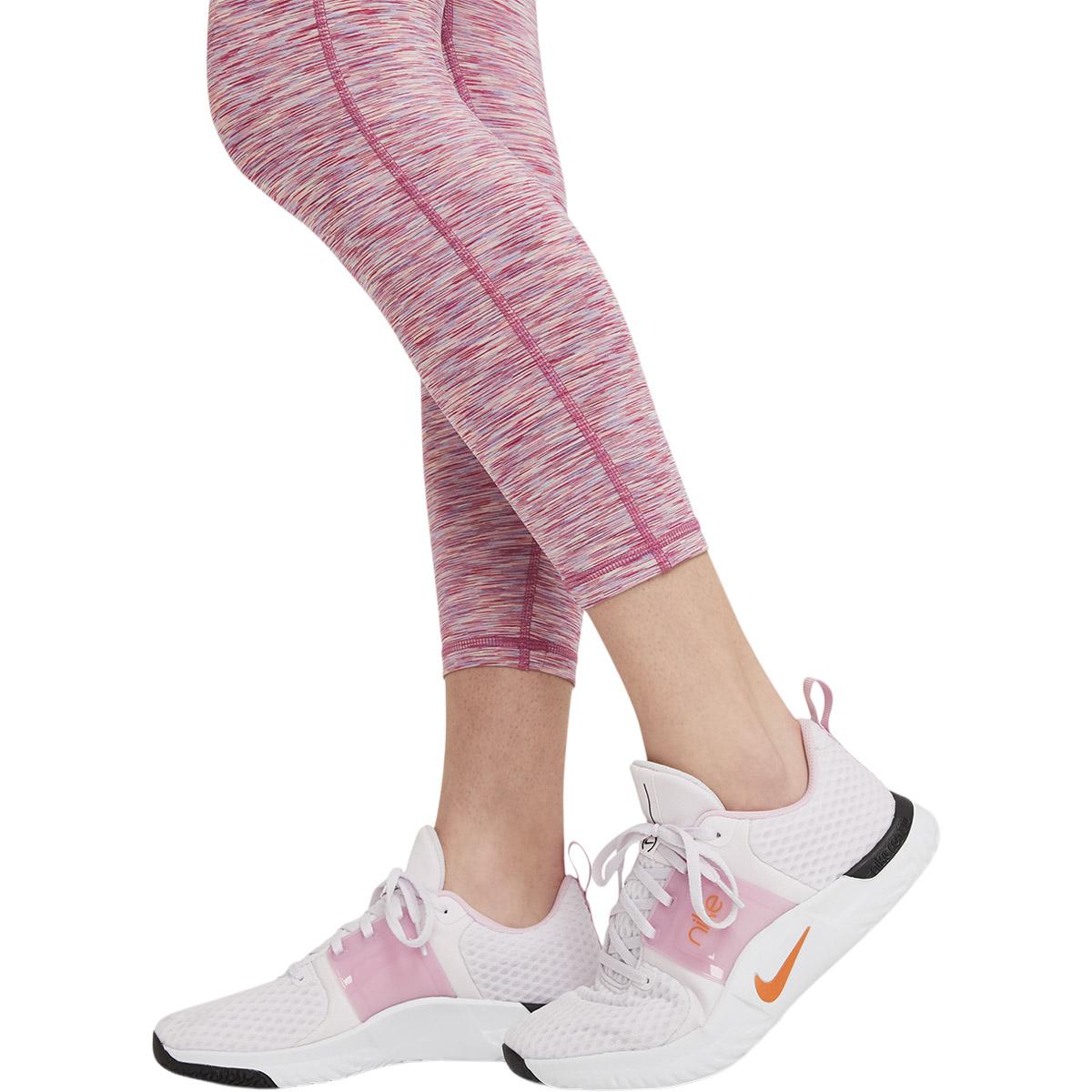 Nike Pro Cropped Space-Dye Træningstights Dame