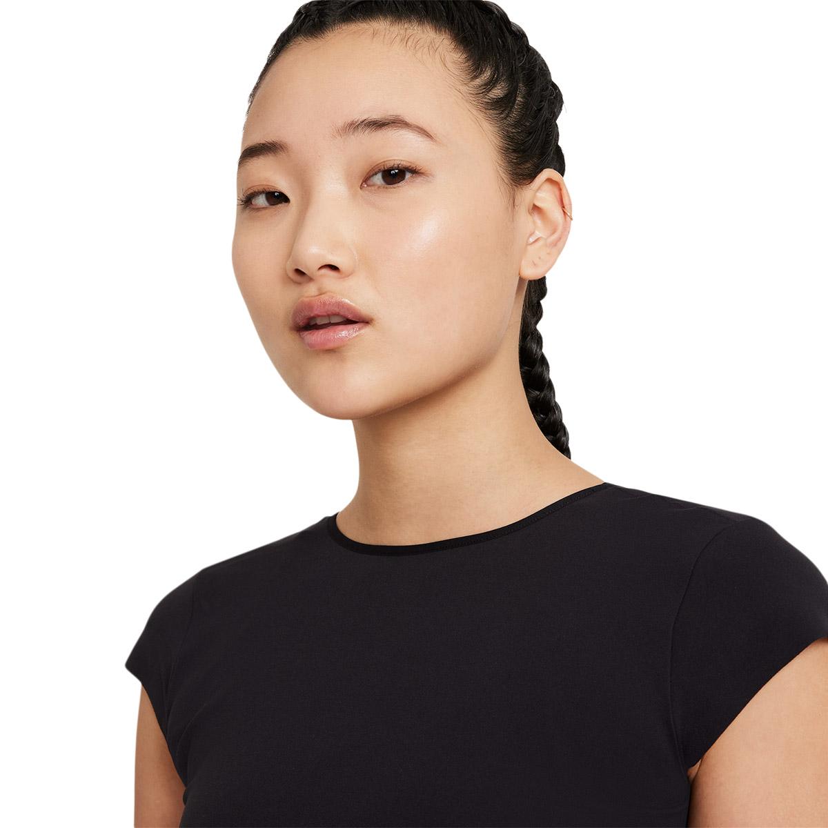 Nike Yoga Luxe Trænings T-shirt Dame
