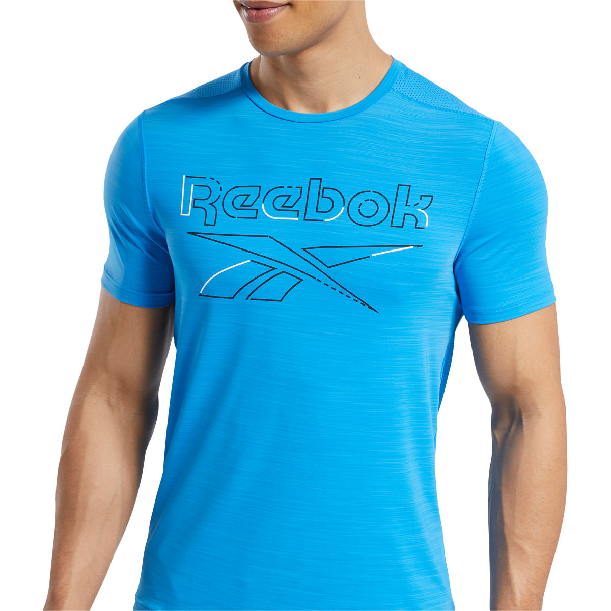 Reebok Workout Ready Activchill Graphic Trænings T-shirt Herre