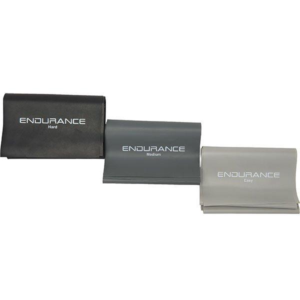 Endurance Latex 3-Pak Træningselastikker