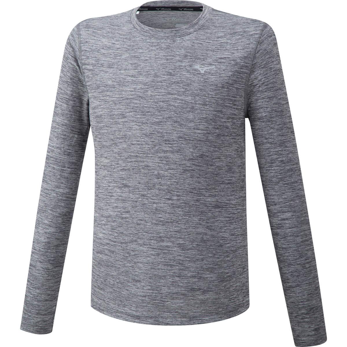Mizuno Impulse Core Langærmet Løbe T-shirt Herre