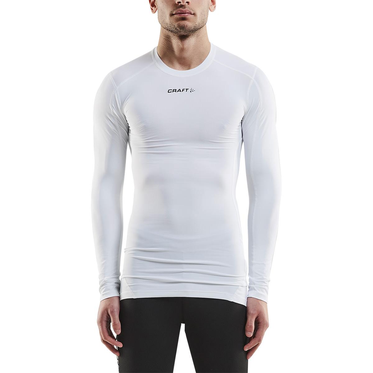 Craft Pro Control Kompression Langærmet Trænings T-shirt Herre