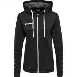 hummel Authentic Poly Zip Hoodie Træningstrøje Dame