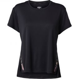 2XU Xvent G2 Løbe T-shirt Dame