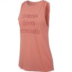 Nike Peace Love Swoosh Træningstop Dame