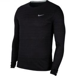 Nike Miler Langærmet Løbe T-shirt Herre