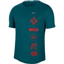 Nike Miler Wild Run Løbe T-shirt Herre
