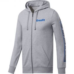 Reebok CrossFit Full Zip Graphic Hættetrøje Herre