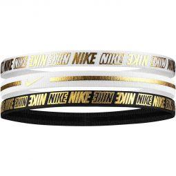 Nike Metallic 3-Pak Hårbånd