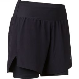 """Asics Road 2in1 5"""" Løbeshorts Dame"""